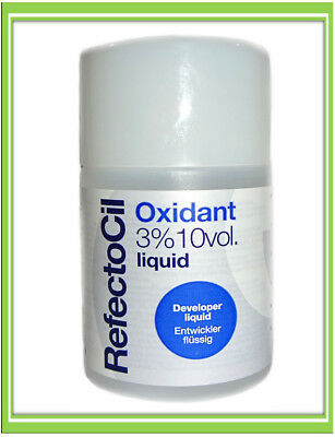 €4,00/100ml RefectoCil Oxidant 3% Entwickler Augenbrauen Wimpern Farbe 100ml