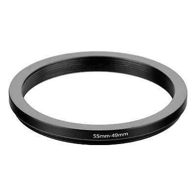 55-49mm Step-Down SLR Lens Metal Adapter Ring