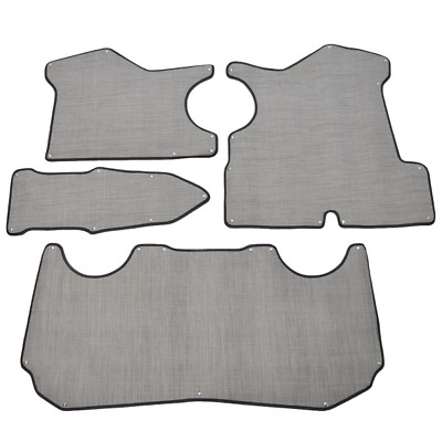 Larson Boat Snap In Mats | LX 205 Gray (Set Of 4)