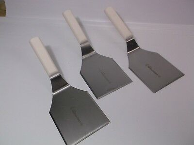 Dexter Bundle Bulk Lot (3) P94858 White 5x4 Burger Turners Flipper Factory 2nd