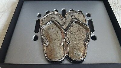 SANDALS FLIP FLOPS HOOD/GRILL Auto Car Ornament (NIB)