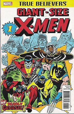GIANT SIZE X-MEN #1 True Believers variant 1st Appearance Storm and New Team