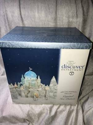 Dept 56 Crystal Ice Palace - Special Edition Gift Set #56.58922 No Res.