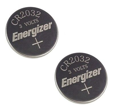 2 Piece Fresh ENERGIZER CR2032 WATCH BATTERIES 3V LITHIUM CR 2032 DL2032 BR2032