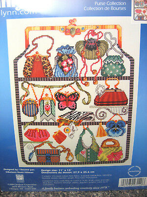 NEW Janlynn Counted Cross Stitch Kit PURSE COLLECTION 023-0140 SEALED