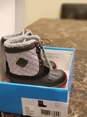 Carter's Toddler Boy's Aikin Cold Weather Snow Boot Choose Size 8 NEW NIB