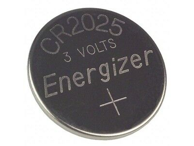 New FRESH Genuine Energizer CR2025 ECR2025 3V Coin Button Battery Fast Shipping