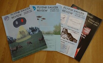 2000 4x FSR FLYING SAUCER REVIEW MAGAZINES - VOLUME 45 (No 1 to 4) - UFO