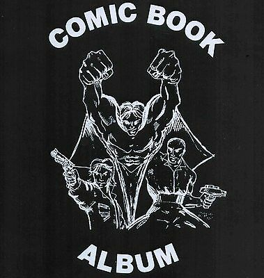 1 Premium New Comic Collector Album Binder Plus 100 Single Pocket Pages