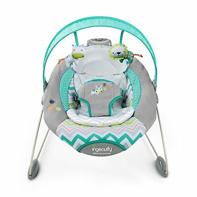 Ingenuity 10209 Babywippe SmartBounce Automatic Bouncer - Ridgedale #670