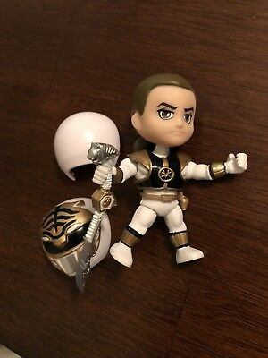 TLS Loyal Subjects MMPR Mighty Morphin Power Rangers 1/48 WHITE RANGER! Wave 1