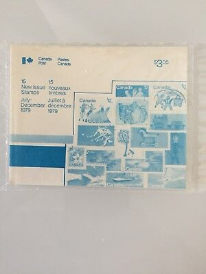 1979 Canada Stamp Package MNH $1.50