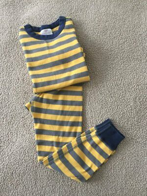Hanna Andersson Boy's Two Piece Long Cotton Pajama Set Sz 110 (5)