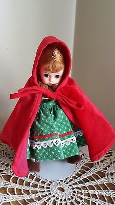 Madame Alexander Little Red Riding Hood. Red Cape