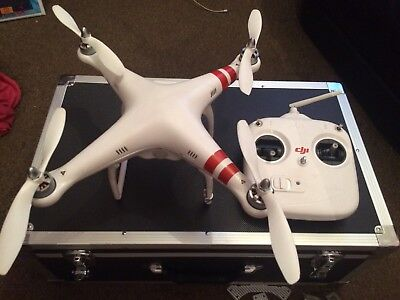 DJI Phantom 1.1 Drone Spares Or Repairs Flashing Yellow Light After Update