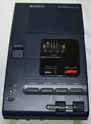 Sony Microcassette Dictator/Transcriber M-2020  For Repair /Parts
