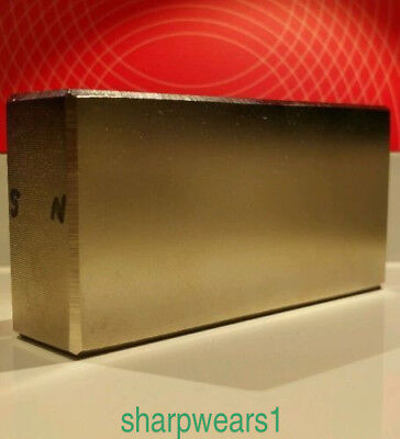 Huge Neodymium Block Magnet. Super Strong Rare Earth N52 4 x 2 x 1 Inch !1pc HOT