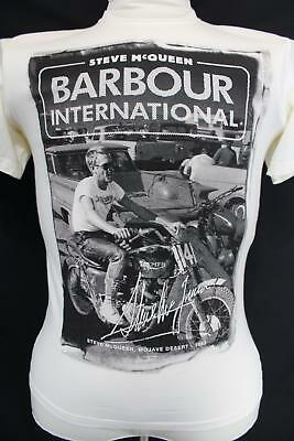 THE STEVE McQUEEN COLLECTION Barbour International 1963 MOJAVE DESERT T Shirt L