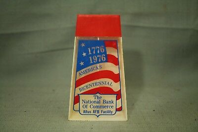 1776 1976 America's Bicentennial The National Bank of Commerce Altus AFB