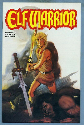 Elf Warrior #1 1987 Elias Stevens Peter Hsu Adventure Publications