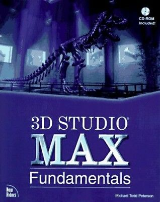 3D Studio MAX Fundamentals by Peterson, T. Mixed media product Book The Cheap