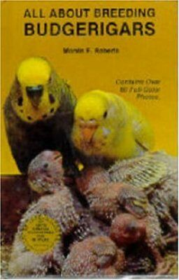 All About Breeding Budgerigars by Roberts, Mervin F. Paperback Book The Cheap