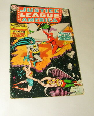 %  1964 Justice League Of America #31 Comic Book 3.5  Condition