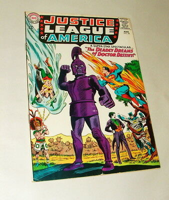 %  1965 Justice League Of America #34 Comic Book 5.0 Condition