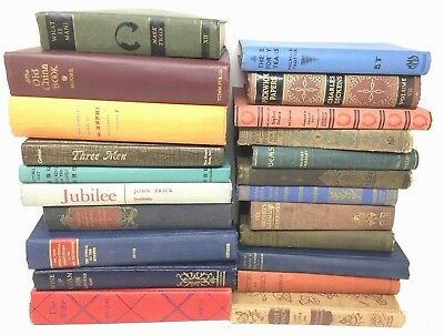 2 Linear Feet mixed GORGEOUS VINTAGE rare old BOOKS unsorted LOVELY Ships FREE