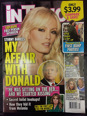 In Touch Mags. Stormy Daniels & Trump Jan.2018 Issue-Mint Cond-Newsstand Copy