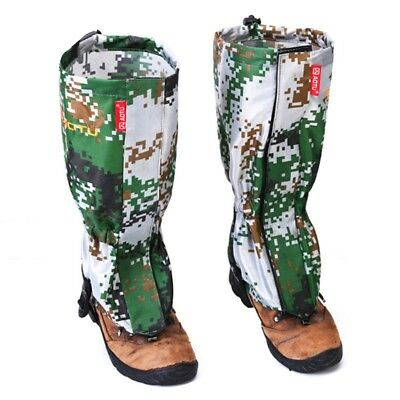 Camouflage Gaiters Adjustable Warm Calf Cover Outdoor Cycling Hiking Legging