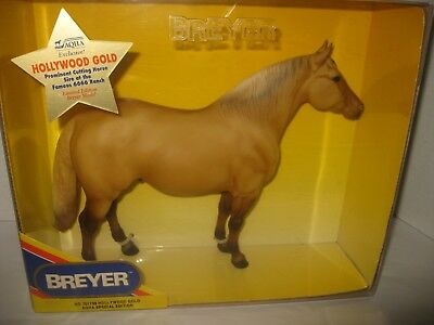 NRFB Breyer #701799 SR - AQHA Hollywood Gold - Adios Mold