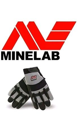 Gloves Digging Minelab Black And Grey