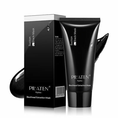 Bottle of Pilaten Charcoal Blackhead Remover Peel Off Facial Face Mask 60g