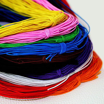"""25M Stretchy Round Elastic Round Cord Beading String Thread Roll 1mm/0.04"""""""