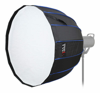 LIFE of PHOTO Deep Para-Softbox 70 cm für BOWENS & METTLE Parabol-Form