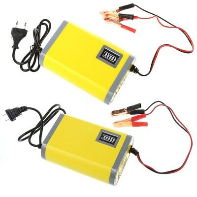 12V 6A/2A Motorcycle Car Smart Automatic Battery Charger Maintainer Trickle