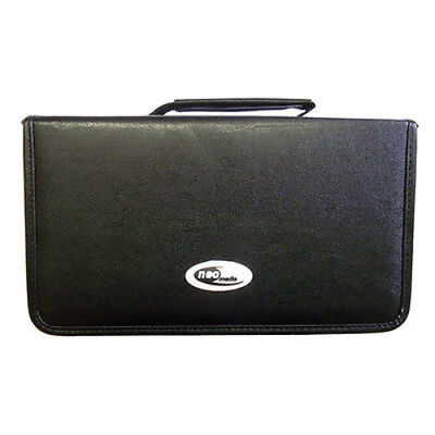 120 CD/DVD Wallet Carry Case Holder Bag Storage Leather by Neo Media