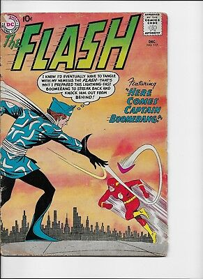 The Flash #117 (Dec 1960, DC) FAIR 1.0 ORIGIN & 1ST APPEARANCE CAPTAIN BOOMERANG