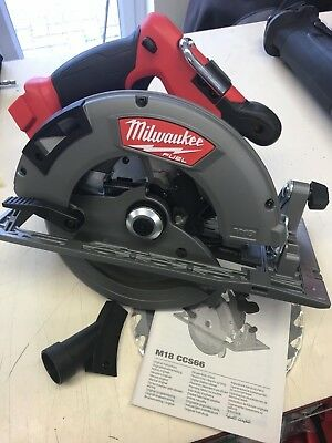 Milwaukee M18CCS66-0 18v Fuel 190mm 66mm Brushless Circular Saw New Tool