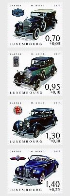 Luxemburg / Luxembourg - Postfris / MNH - Complete set Oldtimers 2017