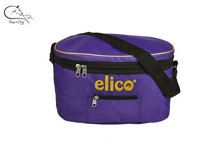 Navy Blue horse pony equestrian riding hat storage Elico hat Bag