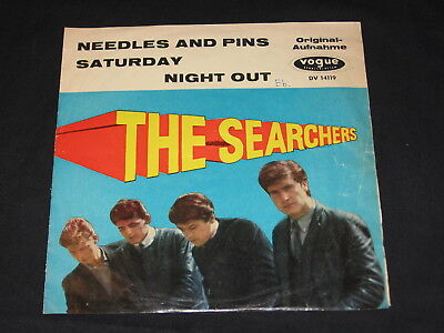 "7"" The Searchers: Needles And Pins / Saturday Night Out German Vogue"