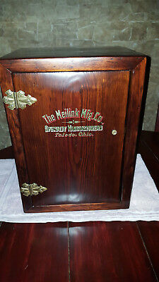 Ultra Rare Circa 1898 Meilink Personal Safe with Original Shipping Crate
