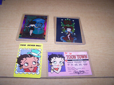 4 Betty Boop Collection LicenseTrading Cards To From card Nice Cond