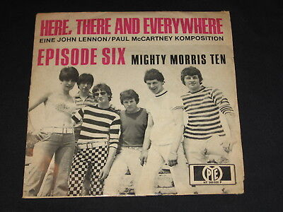 "7"" Episode Six (Deep Purple): Here There And Everywhere Rare German Pye"