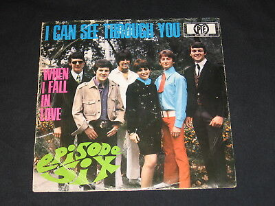 "7"" Episode Six (Deep Purple): I Can See Through You Rare German Pye Top"