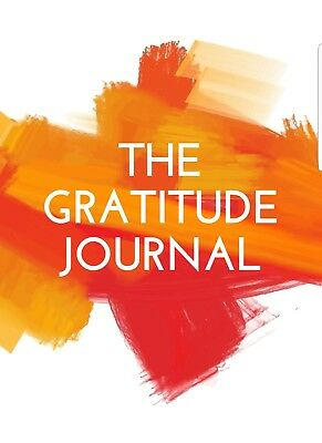THE GRATITUDE JOURNAL A6 size, self help - mental health - depression - anxiety.