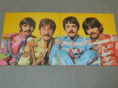 Sgt. Peppers Lonely Hearts Club Band, EMI Electrola von 1967 (Foto)