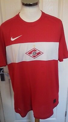 Spartak Moscow 2009 home shirt   size 57cm armpit to armpit  adult